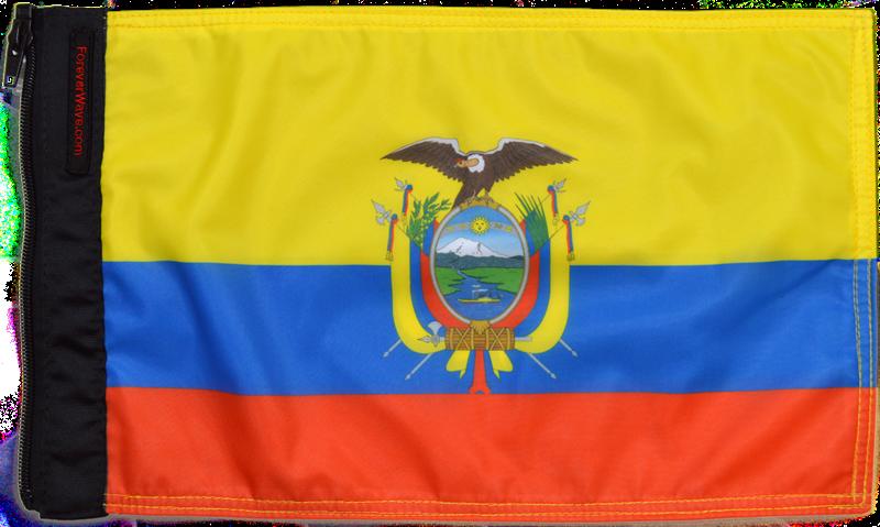 Ecuador Flag Forever Wave - Ecuador flags