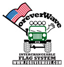 Forever Wave Custom Flags