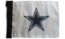 Dallas Cowboys White Flag