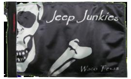 Jeep Junkies Club Flag