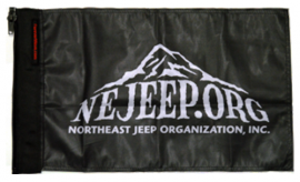 NE Jeeps Organization Flag