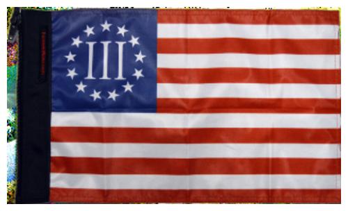 Nyberg Three Percenter Flag
