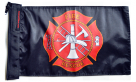 Fire Rescue Flag