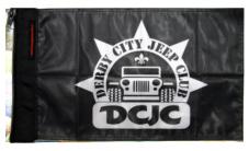 Derby City Jeep Club Flag