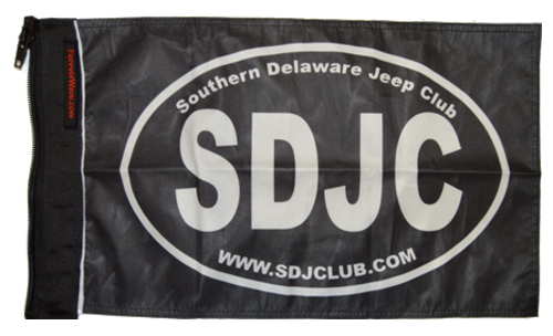 Southern Delaware Jeep Club Flag