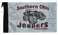 Southern Ohio Jeepers Association Flag