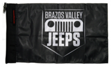 Brazos Valley Jeeps Flag