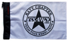 Texas 4WD Club Flag