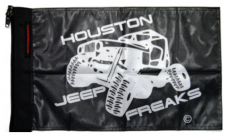 Houston Jeep Freaks Flag