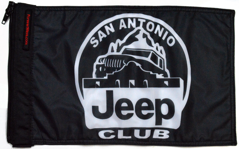 San Antonio Jeep >> San Antonio Jeep Club Flag