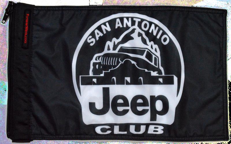 San Antonio Jeep >> San Antonio Jeep Club Flag